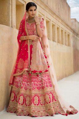 Wedding Lehenga for Pear Shape Body